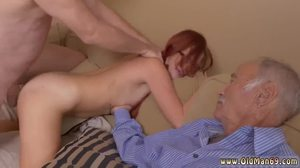 Fucking, Sex, 3 some, Mature, Teen, Young, Dad and girl