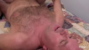 Blowjob, 3 some, Mature, Bent over, Doggystyle, Group, Riding