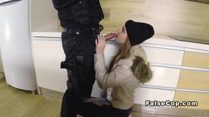 Group, Long hair, Brunette, Blowjob, Amateurs, Police, Uniform