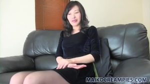 Fucking, Creampie, Couple, Sex, Mature, Interview, Japanese